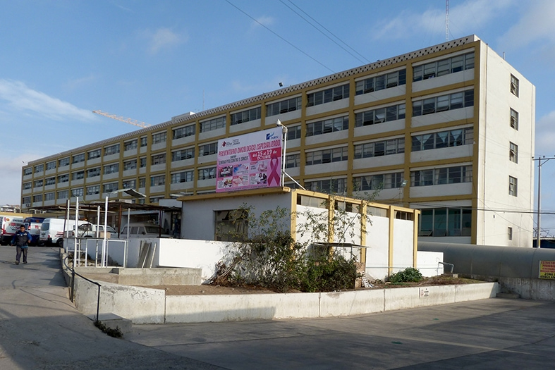 1954, Hospital Regional de Tacna, Jorge de los Ríos